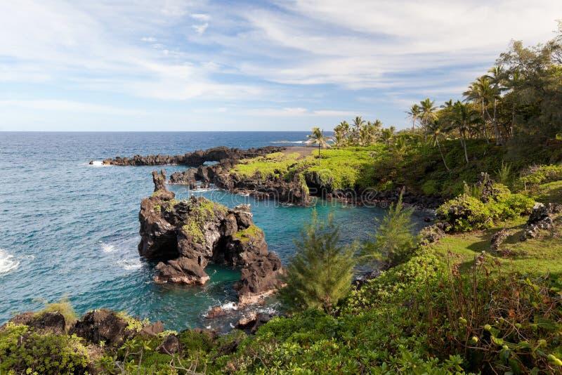 Hana Maui Coast Royalty Free Stock Photography