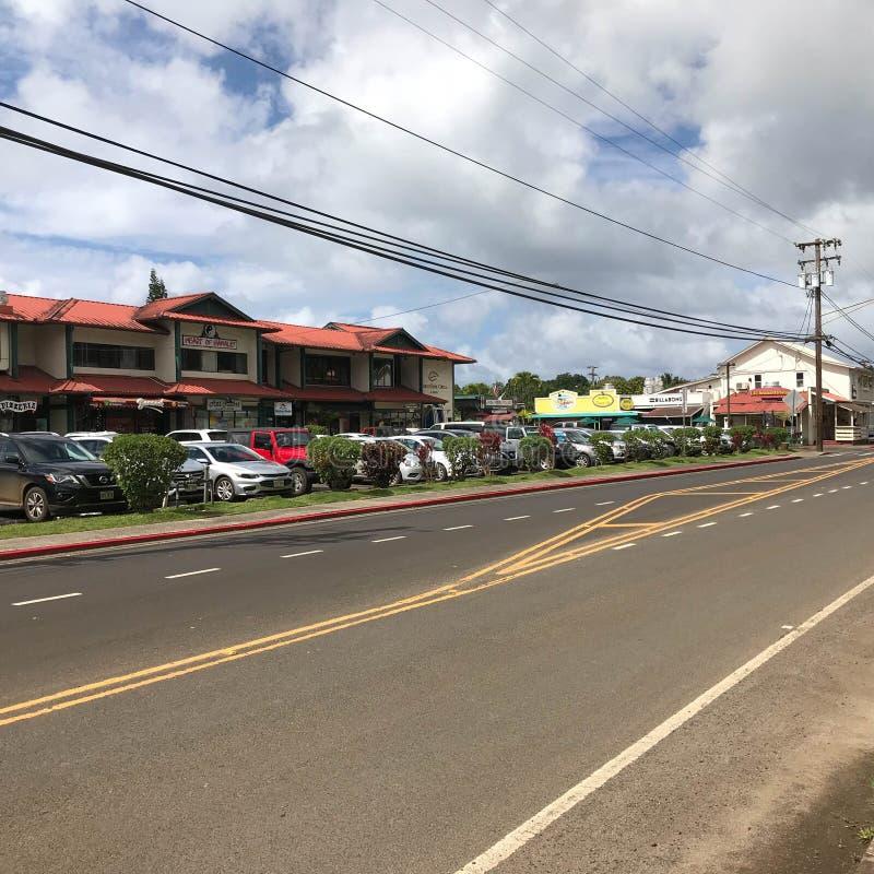 Hanalei,考艾岛,夏威夷,美国 免版税库存图片