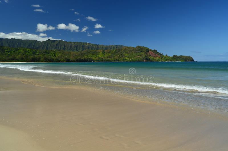 Download Hanalei Beach stock photo. Image of napili, ocean, tropical - 22501394