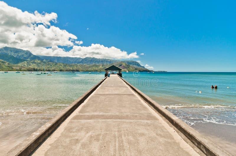 Hanalei-Bucht, Kauai-Insel - Hawaii stockfotografie