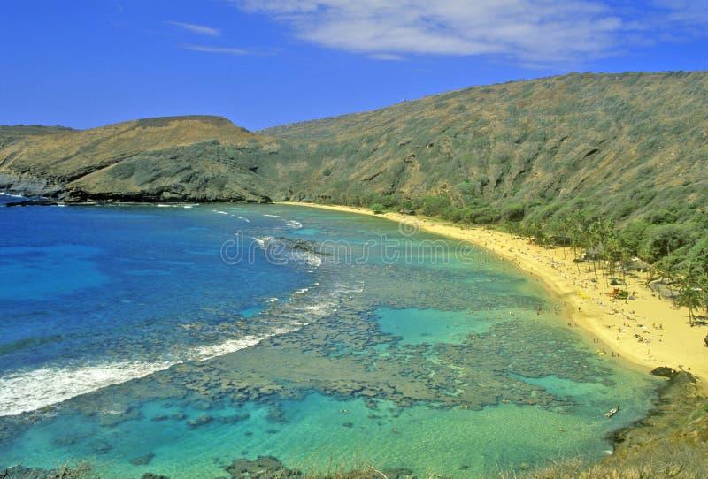 Hanauma Bay, Honolulu, Hawaii royalty free stock photos