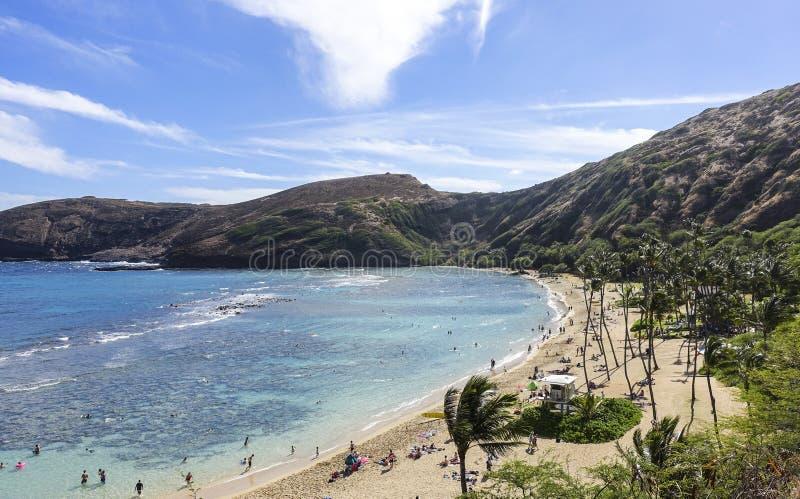 Hanauma-Bucht, O-` ahu, Hawaii stockfoto