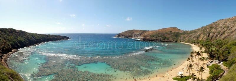 Hanauma Schacht, Hawaii stockfoto