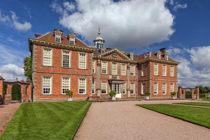 Hanbury Hall, Вустершир, Англия стоковое изображение rf