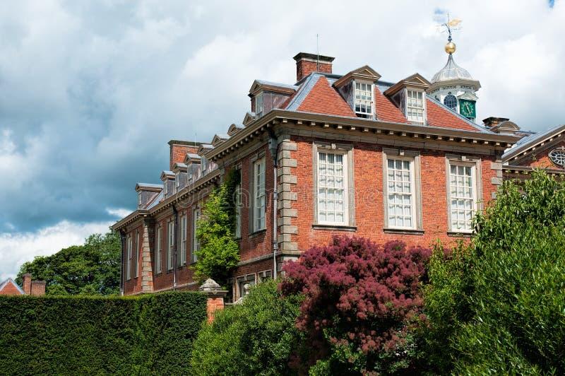 Hanbury Hall royaltyfri bild