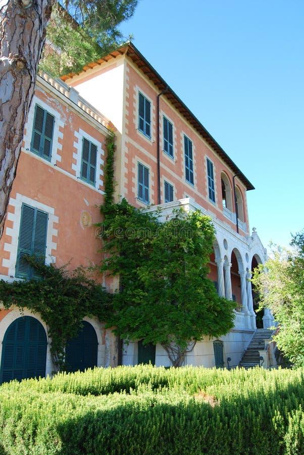 Hanbury Villa royalty free stock images