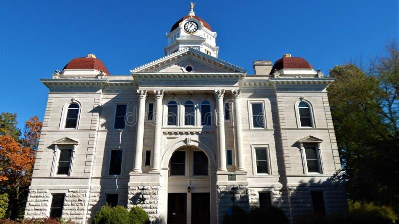 Hancock County Gericht Karthago Illinois stockfotografie