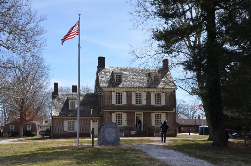 Hancock dom zdjęcia royalty free