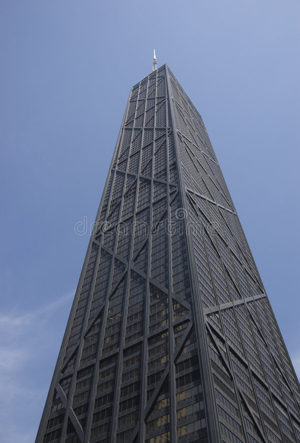 Hancock-Gebäude stockfotografie