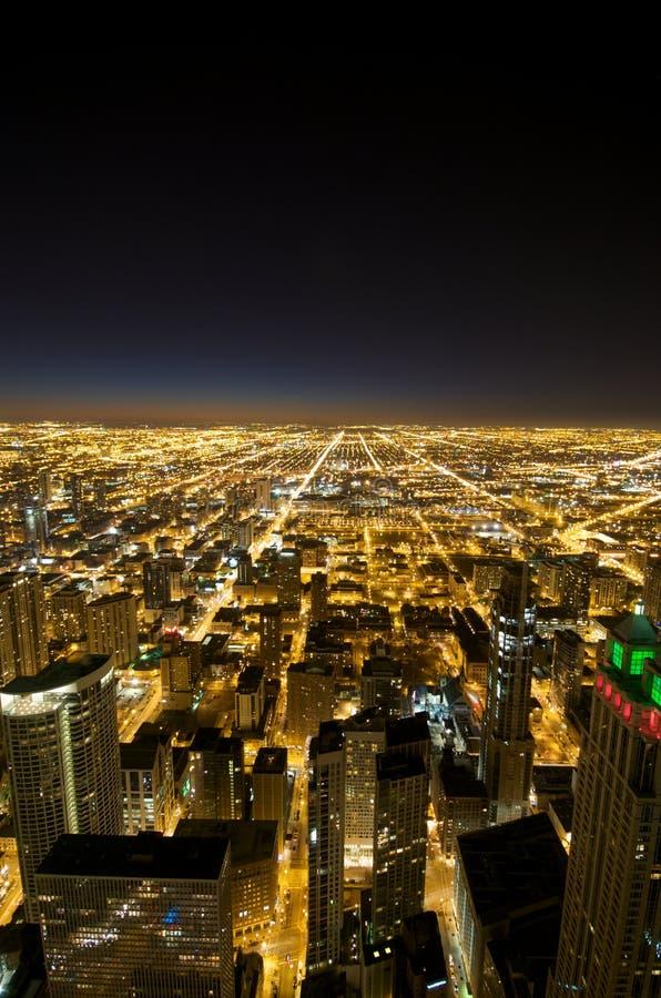 Hancock-Gebäude-Chicago-Ansicht lizenzfreie stockfotografie
