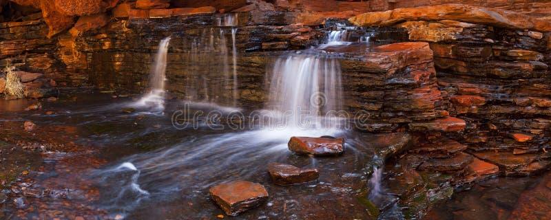 Hancock Gorge, Karijini NP, Western Australia royalty free stock photos