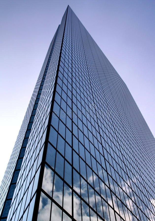 Download Hancock Tower stock image. Image of skyscraper, building - 15851873