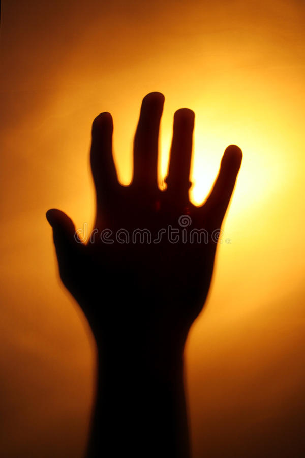 Download Hand stock image. Image of behind, hold, dark, against - 10833305