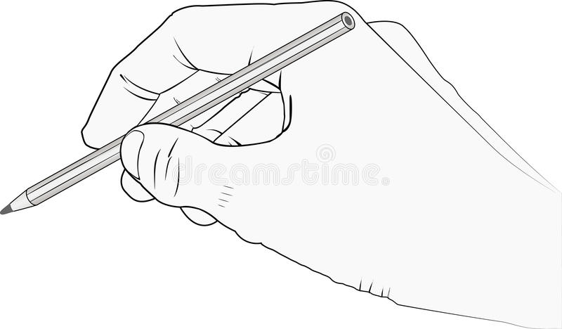 Download Hand stock vector. Image of concept, hobby, drawing, illustration - 22753669