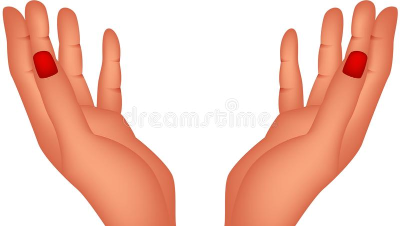 Download Hand stock vector. Illustration of finger, business, greeting - 28770043