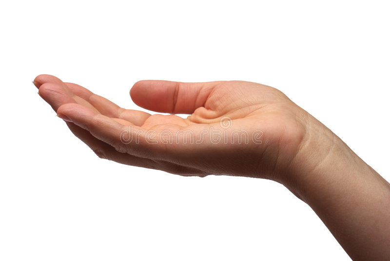 Hand stock afbeeldingen
