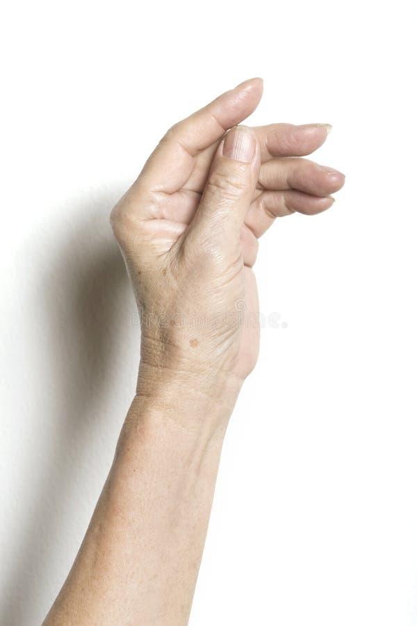 Hand royalty-vrije stock afbeelding