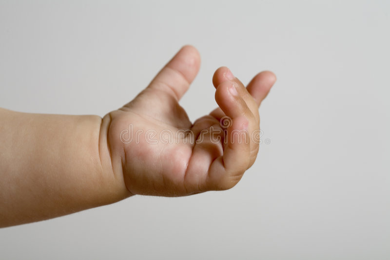 Hand of baby royalty free stock photos