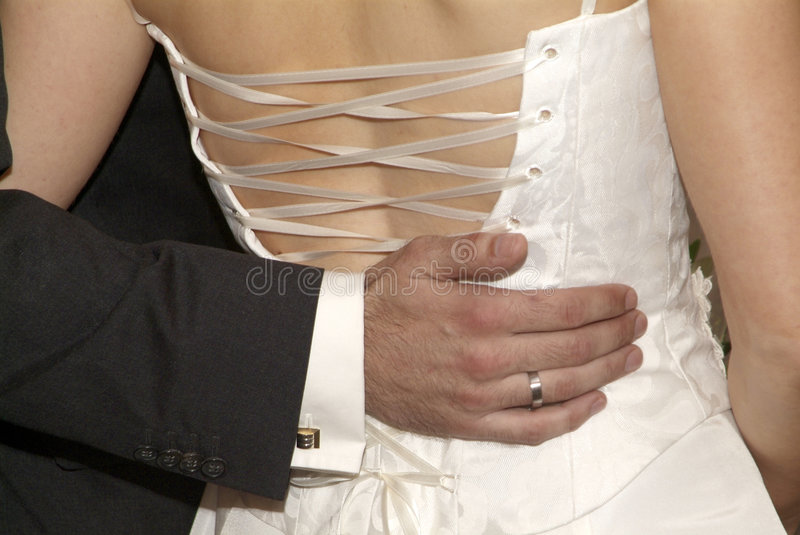 Download Hand on back stock photo. Image of gorgios, easily, fashion - 2888064
