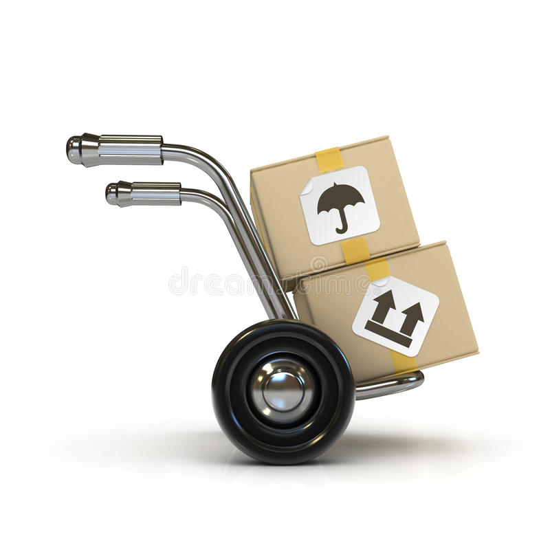Free Hand Barrow Stock Photo - 15590000