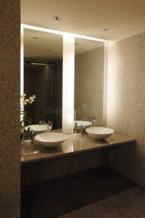 Download Hand basins stock photo. Image of basins, backlight, mirrors - 305344
