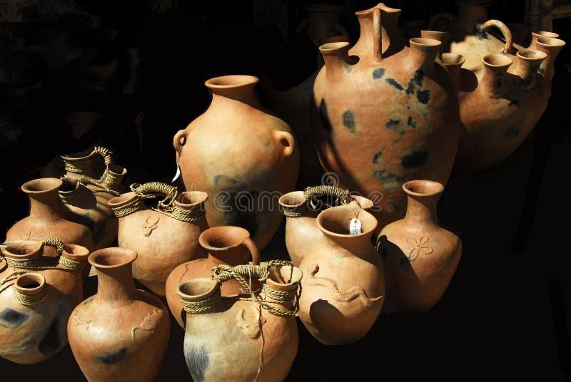 Hand Bewerkte Vazen stock foto's