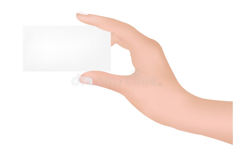 Download Hand With Blank Stock Photography - Image: 18466592