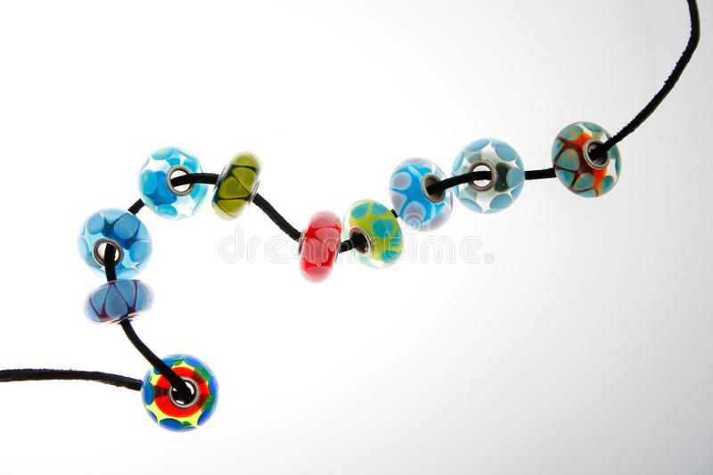 Download Hand Blown Glass Beads stock photo. Image of various - 28605688