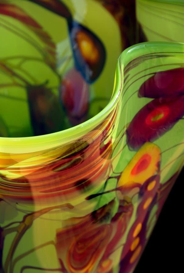 Hand-blown Vase stock photos