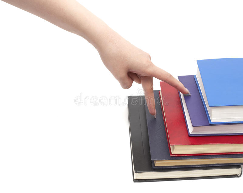 Download Hand And Book Royalty Free Stock Image - Image: 13470756