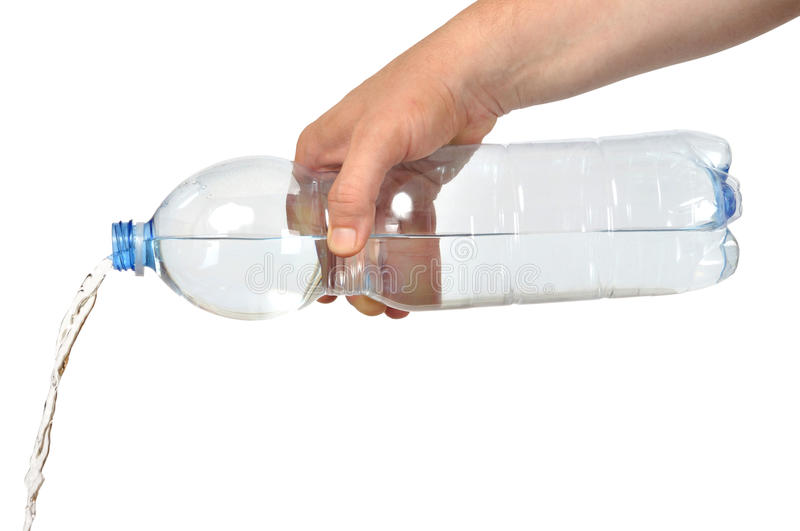 Download Hand with Bottle stock image. Image of pour, water, pouring - 15635257