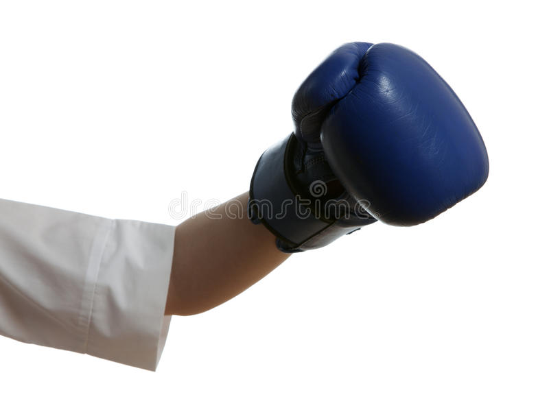 Download Hand in boxing glove stock image. Image of combative - 29102875