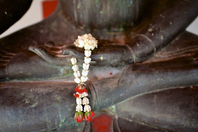 Hand of Buddha stock photography