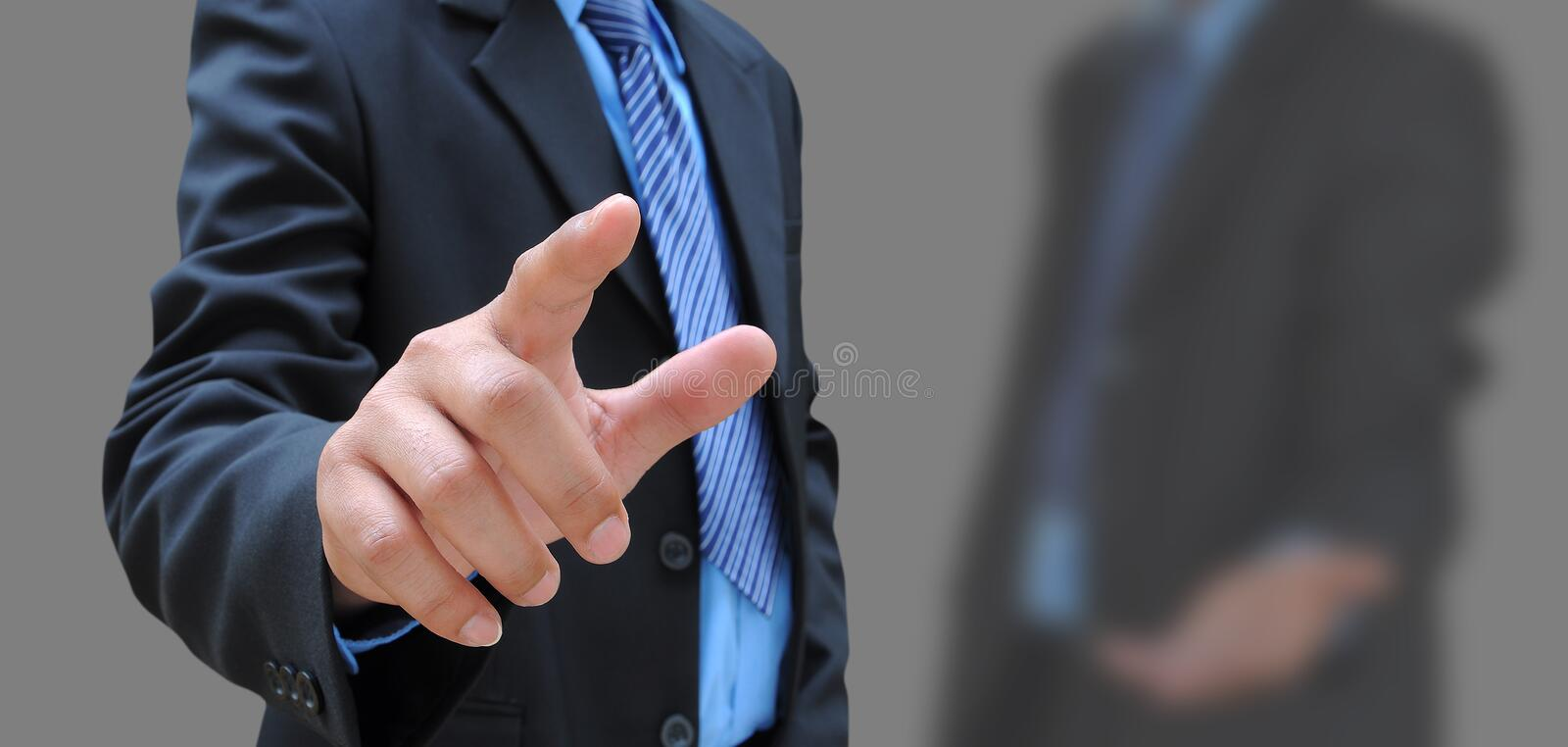 Hand of businessman royalty free stock photos