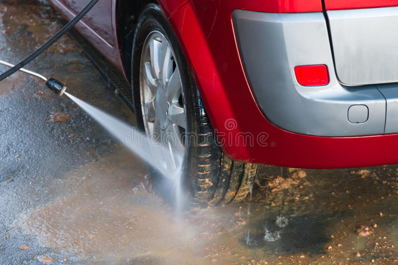 Hand Car Wash Stock Images