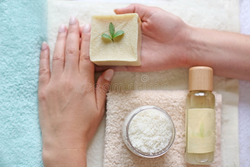 Hand care concept royalty free stock image