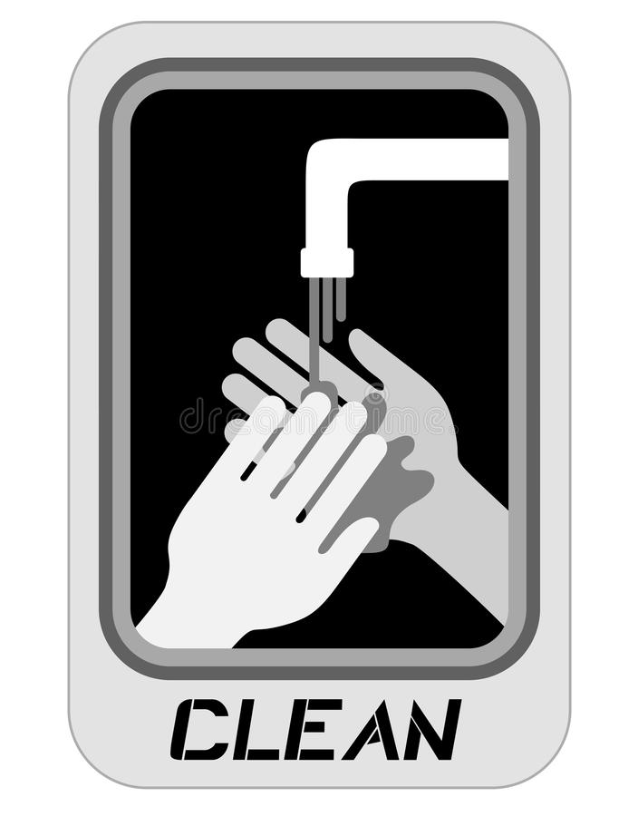 Download Hand clean stock vector. Image of disinfection, wallpaper - 26747195
