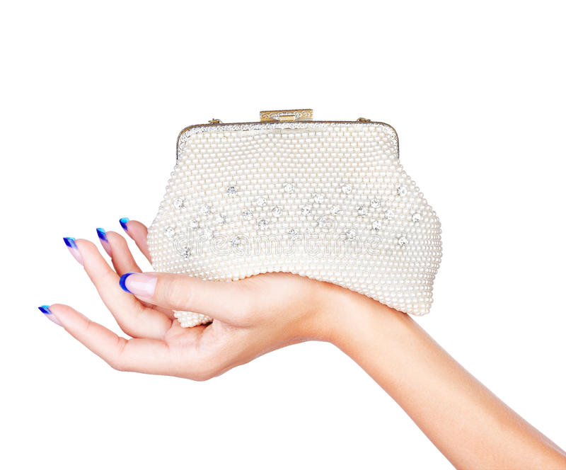 Hand With Clutch Royalty Free Stock Image