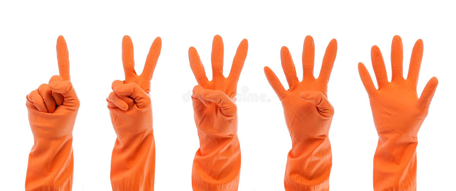 Hand collection royalty free stock photos