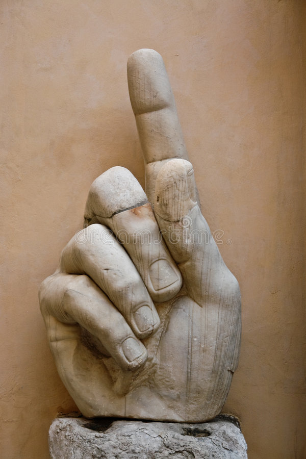 The Hand Of Constantine Royalty Free Stock Image