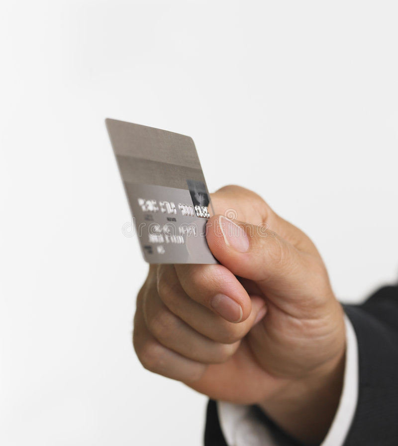 Download Hand With Credit Card Stock Photos - Image: 1118903