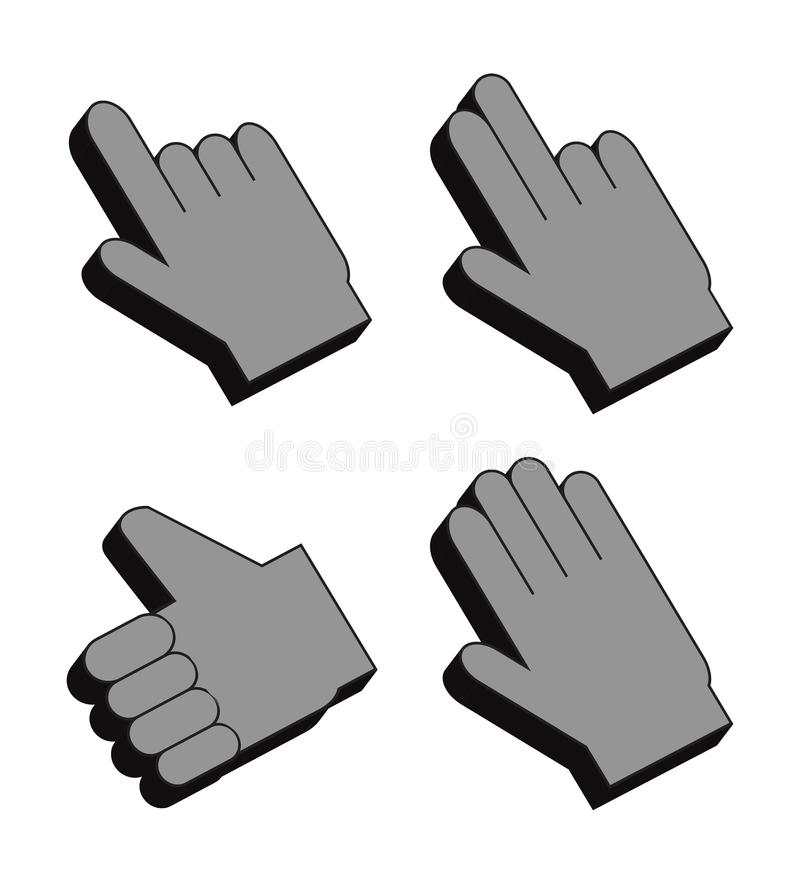 Free Hand Cursor Royalty Free Stock Images - 26216929