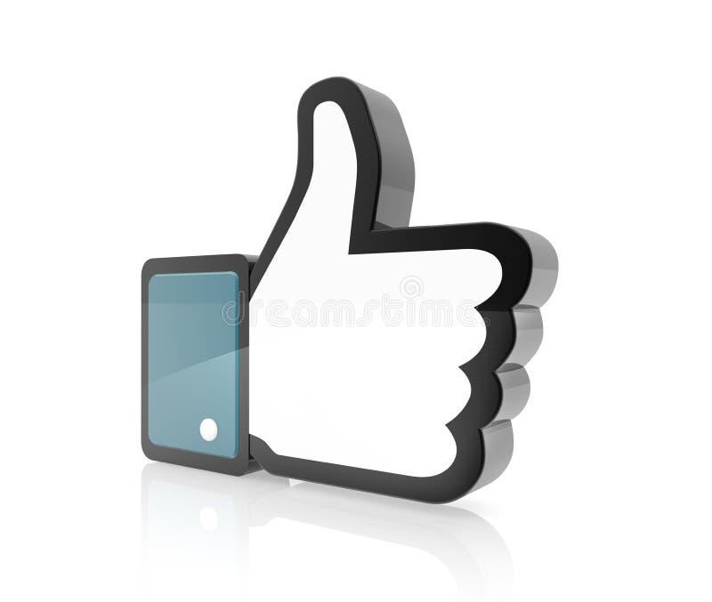 Hand Cursor - Thumb Up vector illustration
