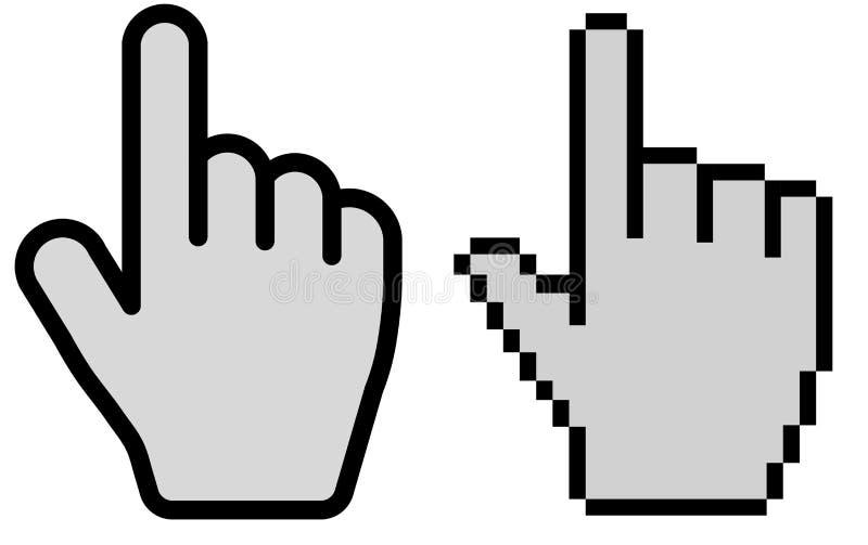 hand cursor vector illustration stock vector illustration of rh dreamstime com hand cursor vector mac hand cursor vector icon