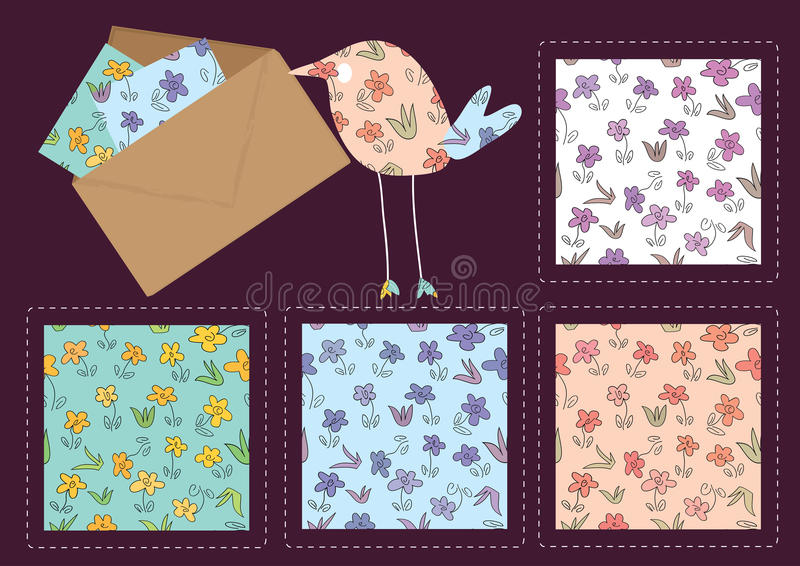 Download Hand Drawing Flower Pattern_eps Stock Vector - Image: 18640820