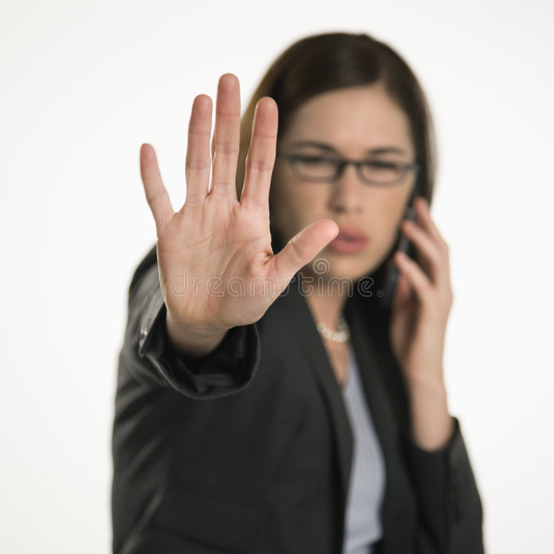 Hand der Frau. stockfotografie