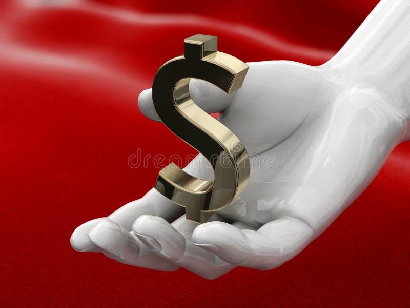 Hand With Dollar Stock Photos