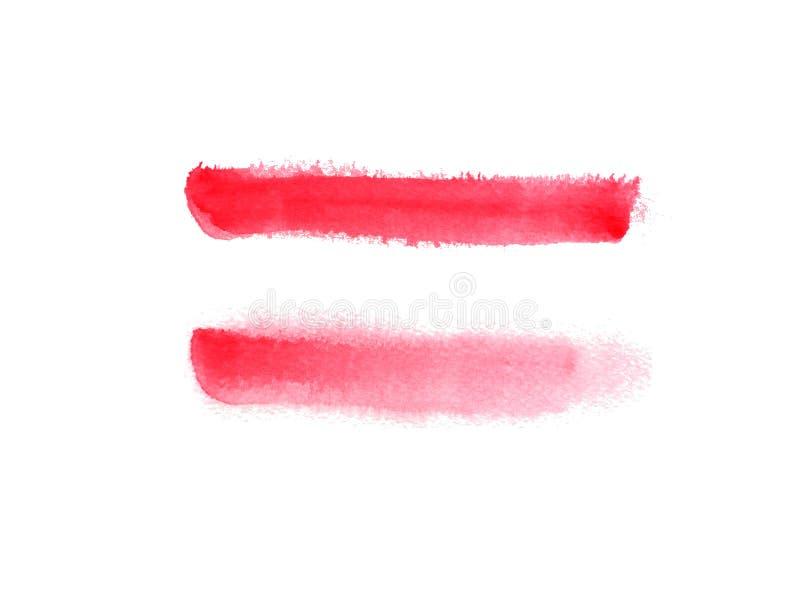 Hand dragen vattenfärgbakgrund arkivbild