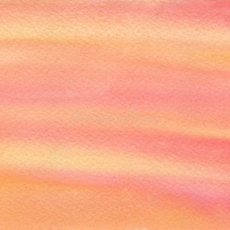 Hand dragen vattenfärgbakgrund arkivbilder