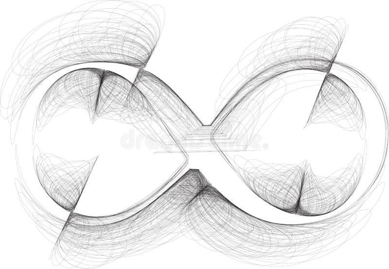 Hand dragit symbol vektor illustrationer